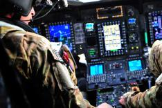 MH-47 - Chinook Cockpit