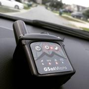GSatMicro - Vehicle tracking in residential neighborhood